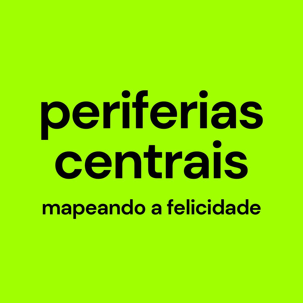 Imagem e link para o website Periferias Centrais